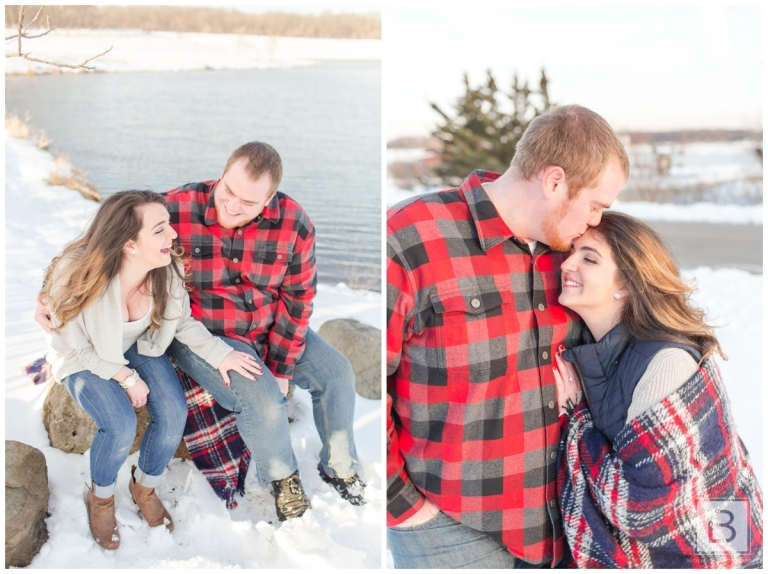 RICH + ANDREA | INDEPENDENCE GROVE ENGAGEMENT SESSION