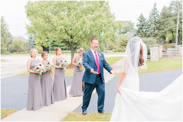 MIKE + NICOLE | AUTUMN CHICAGO NAPERVILLE MARRIOTT WEDDING